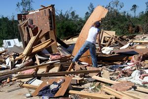 Tornados wreak havoc in South