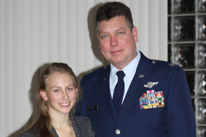 Current students experience challenges of having family in military