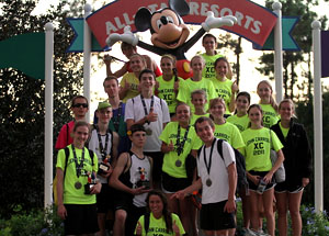 Cross country team ventures to Disney
