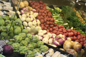 Vegetarians benefit from healthy diets