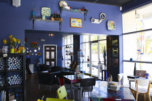 Blue Dog Café introduces new type of entertainment to Harford County