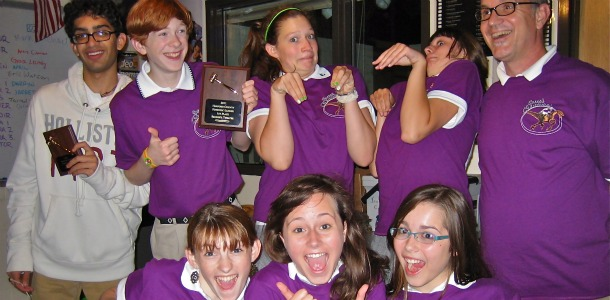 Speech and Debate team sweeps competition at Patterson Mill