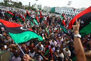 Libyans celebrate death of former leader Moammar Gadhafi
