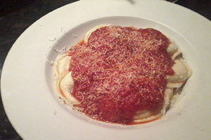Basta Pasta delivers fine food and great service