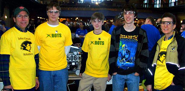 Robotics teams succeed in local competitions