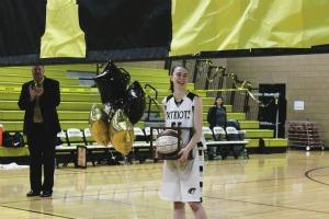Women's basketball shuts out Fallston in overtime, Ripken celebrates 1000-point milestone