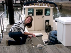 Senior becomes certified Maryland boater