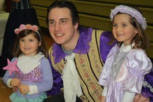 Cinderella Tea enchants little princesses