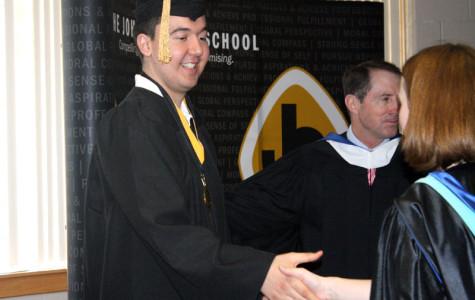 Senior Mihael Maric has Early Graduation
