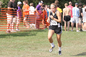Women's cross country team sprints off to a strong start