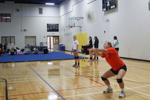 Womens volleyball serves up the new season in A conference