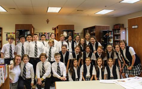 Sophomore inspires St. Margaret students to dream bigger