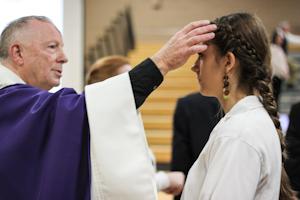 Ash Wednesday Mass kicks off Lenten season