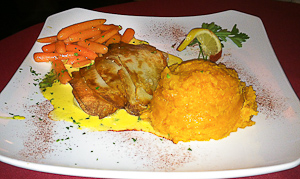 Backfin Blues Bar and Grill offers fine dining in a casual setting