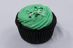 Cupcakes with Cassidy: Mint chocolate cupcakes make festive St. Patricks Day treats