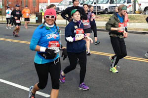 Editor runs half marathon for Senior Project