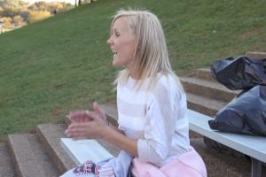 Cheerleading coach Kari Patchak, class of