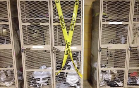 Athletes, administration baffled by locker room thefts