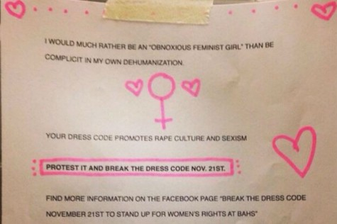 Bel Air High senior fights for fair dress code
