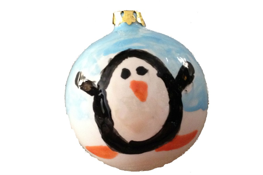 What better gift to give than one that will be used each year at Christmas time? You can customize and personalize a hand-painted ornament to give this Christmas season.