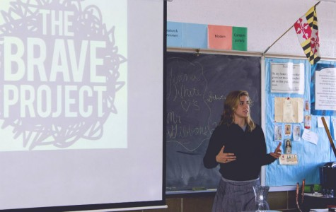 Senior Project encourages students to be brave