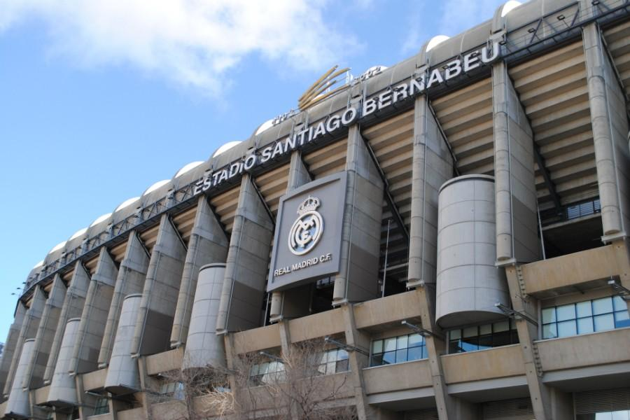 The Santiago Bernabéu Stadium is home to the Real Madrid soccer team. The team has been playing in this stadium since 1947, even though the team was founded in 1902.