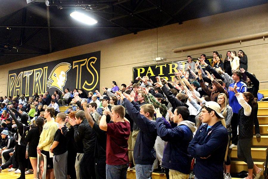 Elevating their hands as freshman Immanuel Quickely attempts a free throw, the crowd braces themselves. The
