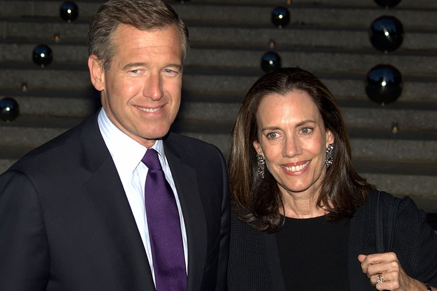 Brian+Williams+and+his+wife+Jane+Williams+at+the+2010+Tribeca+Film+Festival.+Williams+was+recently+given+a+sixth+month+suspension+without+pay+for+fabricating+a+story+about+the+Iraq+War.+%0A