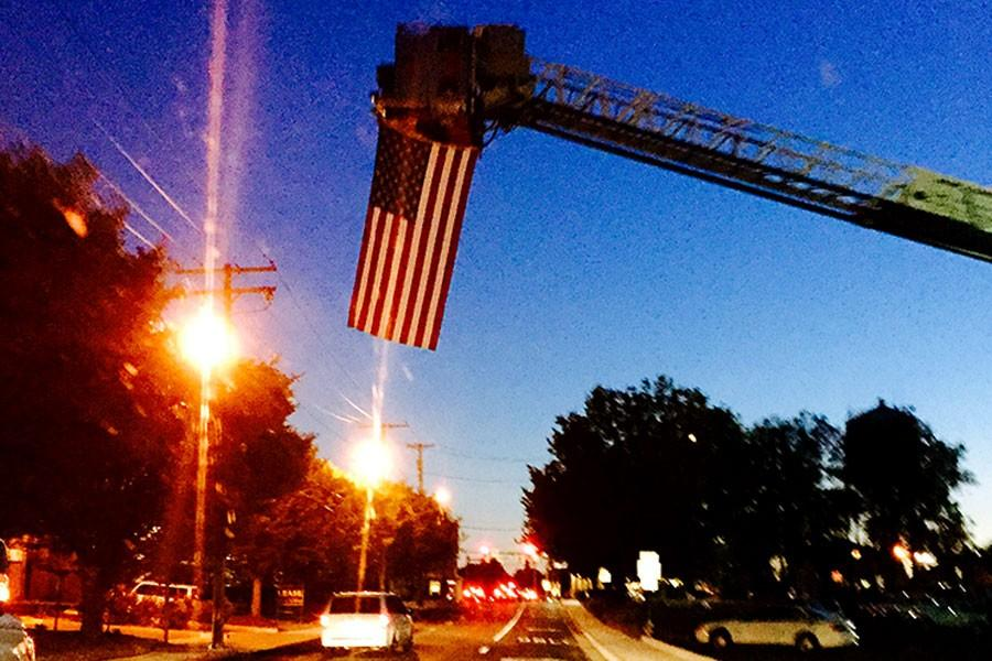 Bel Air Fire Department honors all who were affected by 9/11 with a flag over the intersection of Route 22 and Hickory Rd. The school honored the victims of 9/11 with a moment of silence during the school day.
