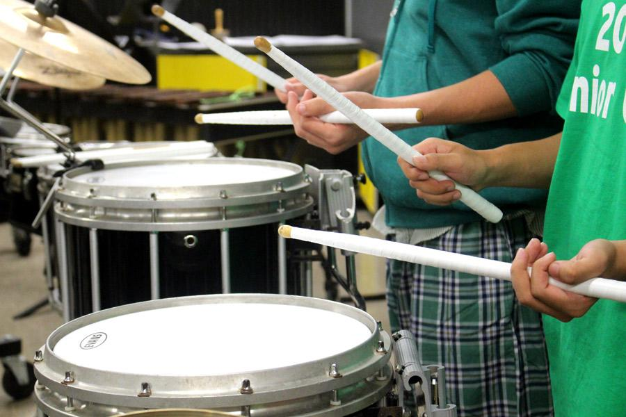 After seven years, the return of a drumline makes its debut practice on Oct. 26 at 7 a.m. With the help of chemistry teacher Cammie Jennings, Music Director Marc Bolden, and junior Emma Gromacki, the drumline has garnered new interest. Practices will be held every Monday and Thursday in the band room at 7 a.m.