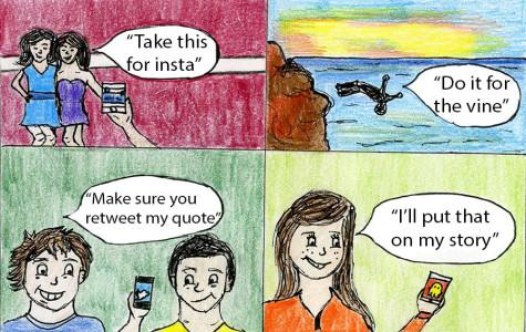 Social media spawns harmful self-obsession