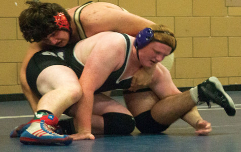 Wrestlers grapple with inexperience
