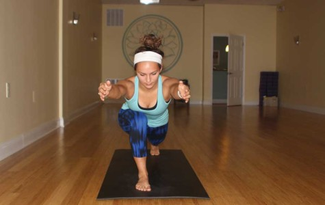 Students indulge in the benefits of yoga