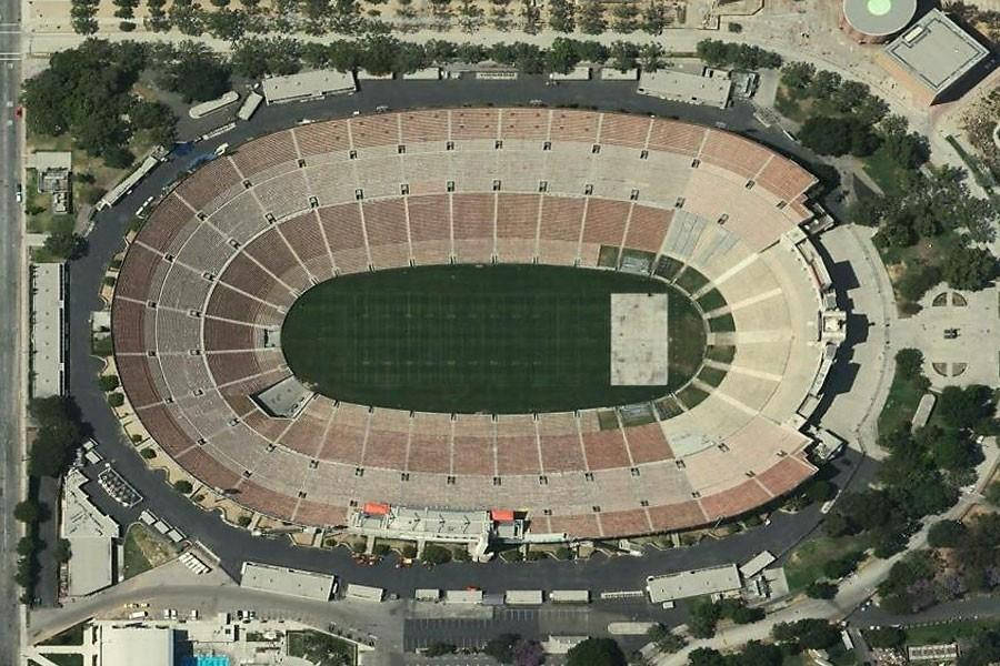 While the Rams' stadium is being built in Inglewood, California, they will play at Los Angeles Memorial Coliseum. Plans for a stadium have been set and is projected to be ready by 2019.
