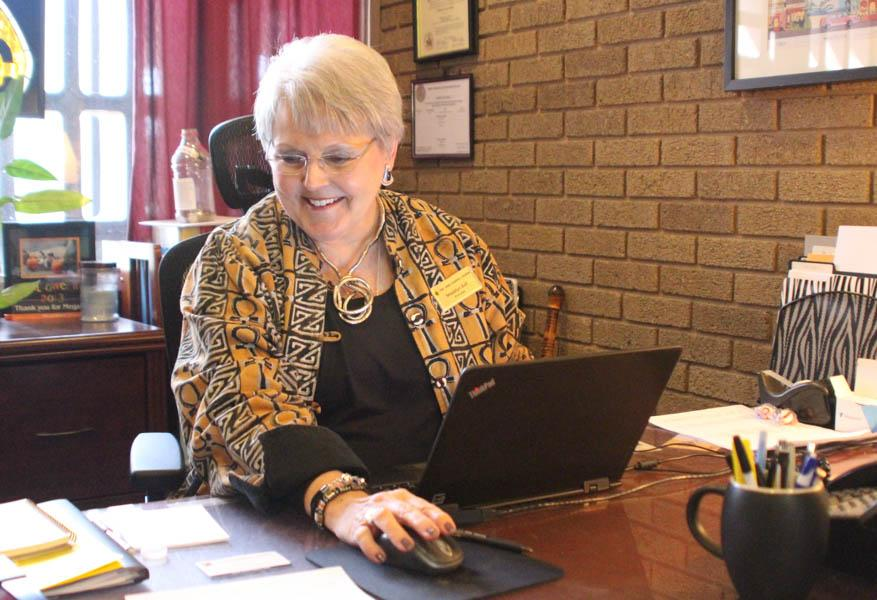 After working as principal for five years, Ball announced her resignation on Feb. 10. She plans on moving to Baltimore where she can live closer to her family and continue to work as a principal at a Catholic school in Baltimore or an archdiocese.