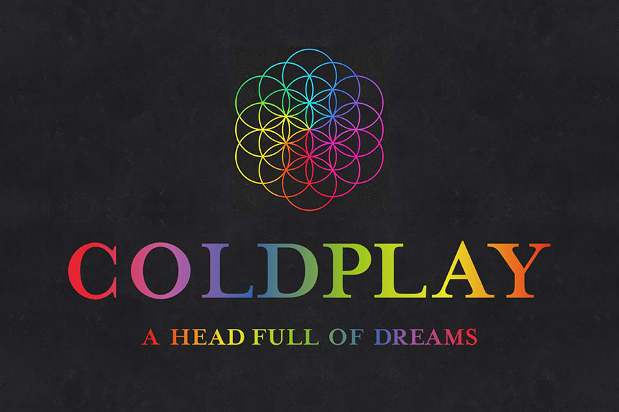 Above is the cover art for Coldplay's album