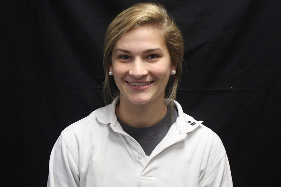 Sophomore Meghan Sheehan commited to the University of South Florida on Feb. 5. Sheehan is the starting shortstop for the varsity softball team.