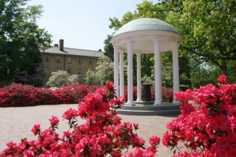 The Old Well located on the UNC Chapel Hill campus, is a popular and historic attraction. The Well was first used as a water supply back in the 1800