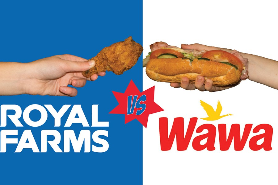 The battle of the food continues this time featuring Wawa and Royal Farms.