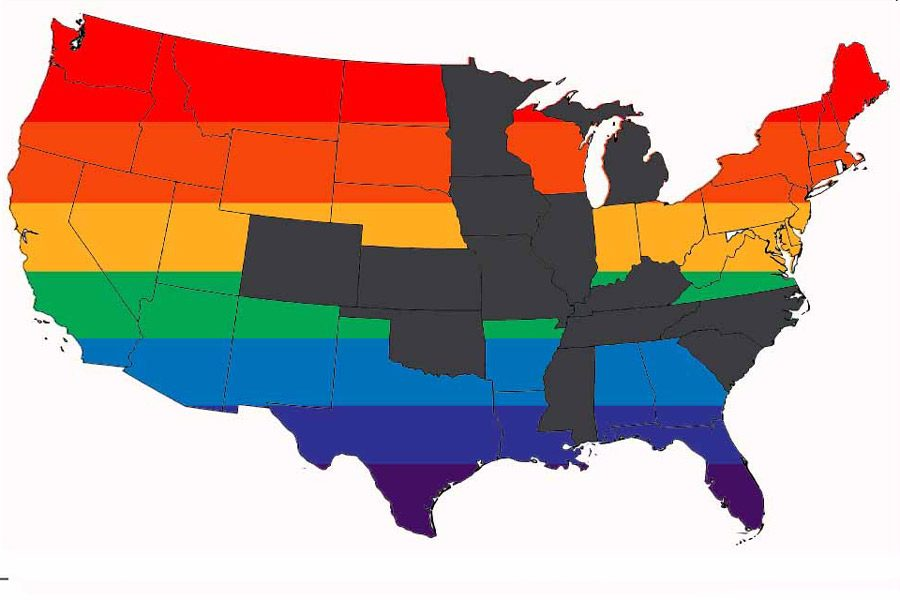 States Pass Lgbt Legislation The Patriot