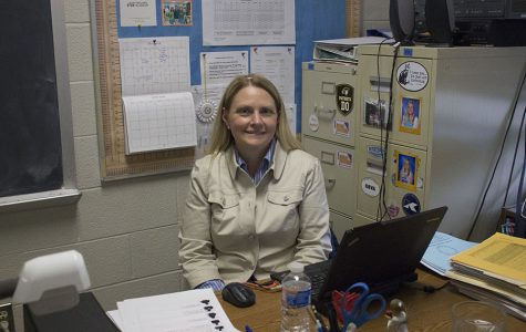 Science Department Chair Julie Baker