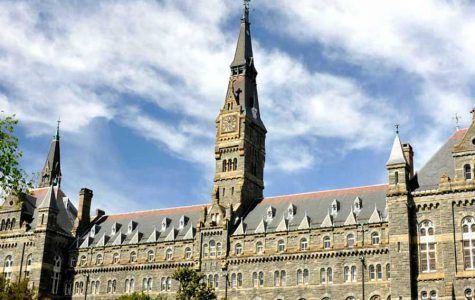 Named after Georgetown president serving from 1873 to 1882, Patrick F. Healy, Healy Hall stands on the Main Campus and houses academic and administrative offices.