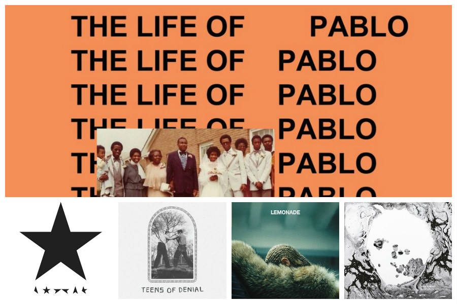 News Editor Edward Benner reveals his top five albums of 2016 so far. His top picks include Kanye West's
