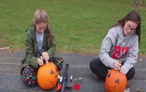 The Patriot Tries It: Carving Pumpkins