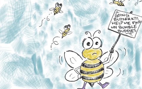 The bees' last buzz
