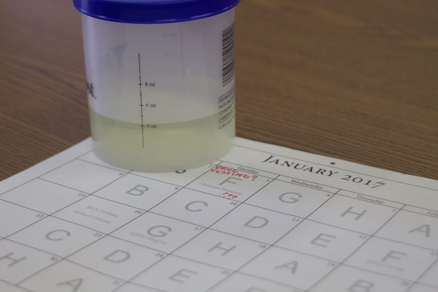 JC will begin randomly drug testing students in order to deter drug use by January 2017 at the latest. The 10 Panel Urine Test will be used to test for marijuana, cocaine, amphetamines, and opiate use.