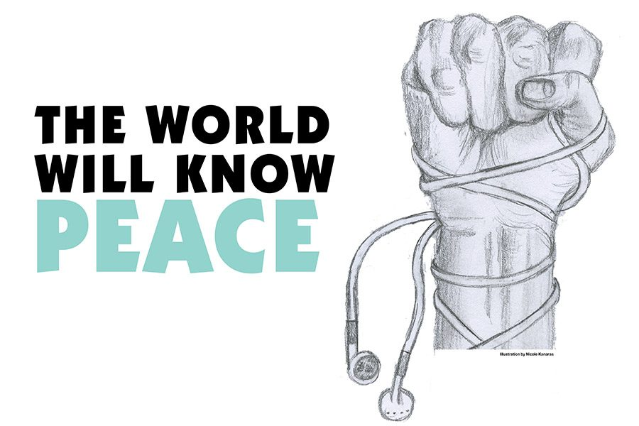 Since the 1960s, musicians like Bob Dylan and Jimi Hendrix have used inspirational tunes to spread the message of peace, love, and equality.  This form of music continues to be an outlet for artists to connect with the world in a non-violent way.