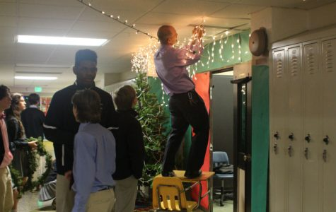 Report cards: Advisory door decorating, pricey snack foods, and cafeteria food service