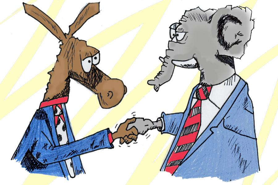 The Republican and Democratic parties need to have political tolerance of each other in order to create an open political dialogue where individuals can respect one another, but also learn from each other's political opinions. Political tolerance is a fundamental component in a democracy.