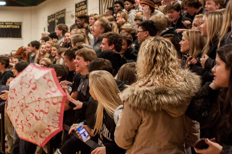 Students have misused a prominent student section at the men's basketball games by using it to single out a JC student as well as chanting derogatory things. It is imperative that students reconsider the purpose of a student section in order to preserve our reputation and strengthen our sense of community.